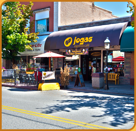 Welcome to Jogas Espresso Cafe!